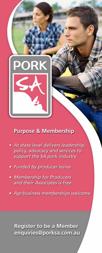Pork SA delivers leadership, policy, advocacy and services
